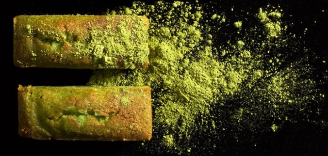 Financier matcha 2
