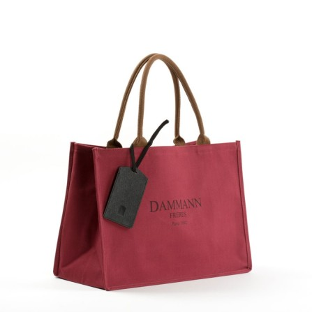 Shopping Bag Dammann rouge - 22€