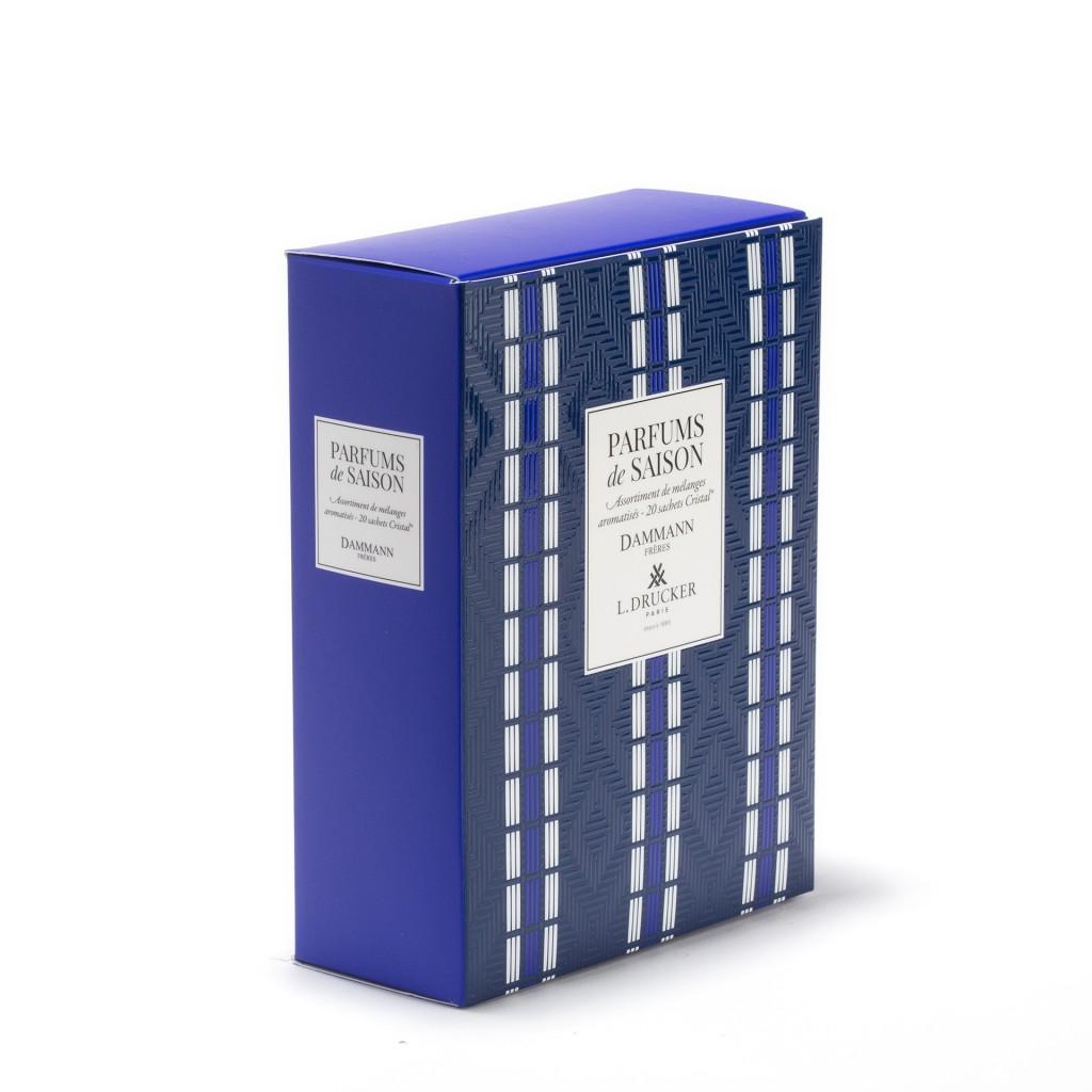"""Coffret Bleu """"Parfums de Saison"""""""